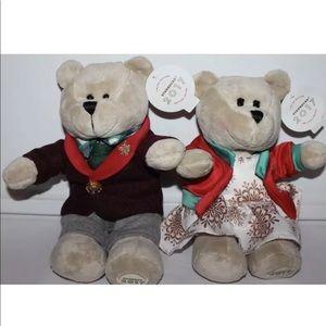 Rare Starbucks Holiday Bears NWT